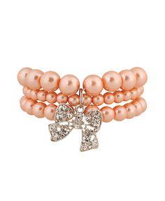 Bow Detail Bracelet   FOREVER21 - 1011409943