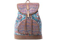 undefined Denim Ikat Mix Departure Backpack