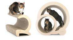 Stunning Modern Cat Scratchers, Lounges & Hideaways from Miglio Design