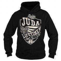 I Love Last Name, Surname Tshirts - Team JUDA Lifetime Member Eagle T shirts