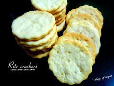 Ritz crackers fatti in casa, ricetta