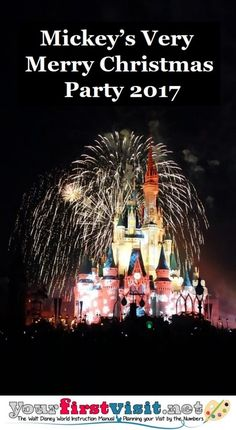 Disney World during the Holidays | Mickey's Very Merry Christmas Party 2017 dates and tips