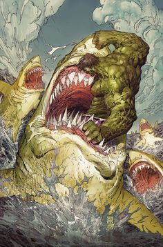 Hulk Vs. Sharks