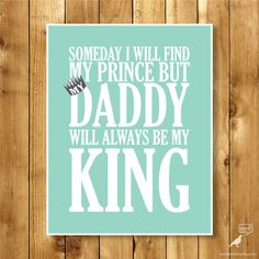 Fathers Day Quote Gift Idea For dad Dad will by WordBirdShop
