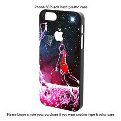 Air Jordan slam dunk GALAXY NEBULA iPhone 4 4s 5 5s 5c 6 6s 6+ 6s+ Samsung Case