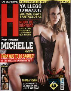 Michelle Vieth Revista H Diciembre 2013 [Scans] | FamosasMex