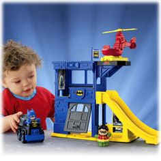 Shop for Little People® DC Super Friends™ Batcave and buy something new for your little one to explore. Find the perfect Little People toddler toys right here at Fisher-Price. Toddler Preschool, Toddler Toys, Baby Toys, Kids Toys, Little People, Little Boys, Batman Batcave, Ben Batman, People Figures