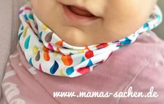 Halssocke für Babys Anleitung Baby Body, Baby Sewing, Sewing Crafts, Upcycle, Diy And Crafts, Handmade, Accessories, Clothes, Crafting