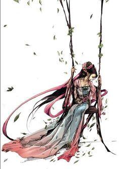 秋千扫落叶_来自Eneia的图片分享