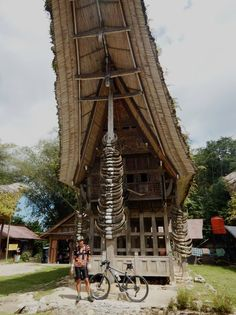 Traditional house Tana Toraja