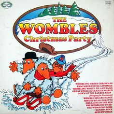 The Wombles Christmas Party. Apparently if you minuetto allegretto you will live to be old. Not available on the NHS. Wimbledon Common, My Childhood, Nostalgia, Merry Christmas, The Past, 1970s, Party, Live, Wall