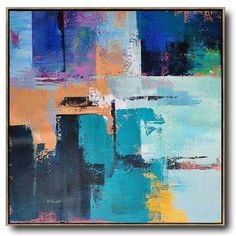 Hand-painted oversized Palette Knife Painting Contemporary Art on canvas large square canvas art. Oil Painting Abstract, Abstract Canvas, Canvas Art, Knife Painting, Acrylic Paintings, Contemporary Abstract Art, Modern Art, Contemporary Artists, Famous Landscape Paintings