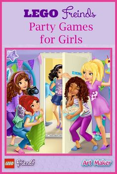 Does your daughter love the LEGO Friends characters? Then you need to throw her a themed party, complete with fun LEGO Friends games!