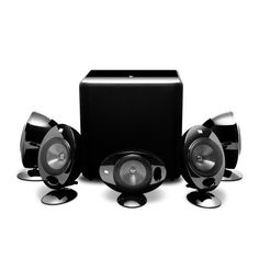 KEF KHT2005.3 System with KUBE1 Subwoofer Gloss Black by KEF. $1399.99. KHT2005.3 system with KUBE1 subwoofer Gloss Black
