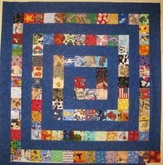 Spy Baby quilt. This would be