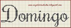 Ângela Bordados: Boa noite fadinhas lindas,trouxe para ajudar vocês ...bjkssss Math, Cross Stitch Embroidery, Beautiful Fairies, Cross Stitch Alphabet, Monogram, Nighty Night, Lyrics, Math Resources, Mathematics