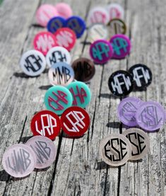 Most Wanted Acrylic Earrings Monogram Stickers, Vinyl Monogram, Monogram Shirts, Monogram Earrings, Monogram Jewelry, Vinyl Crafts, Vinyl Projects, Coaster, Silhouette Projects