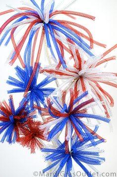 Fireworks Centerpiece Tutorial