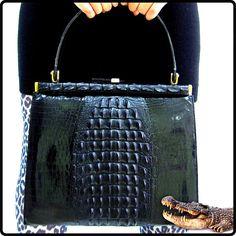 SALE vintage stunning RARE black hornback by DIVINEFIND2013, $399.99