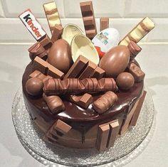 grafika chocolate, kinder, and cake