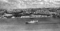 1963.. Dolmabahçe ve civarı.. Nefes ve güneş alan bir şehir..