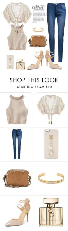 """""""A Beautiful  Day"""" by fsjamazon ❤ liked on Polyvore featuring Miguelina, Iphoria, Valentino and Gucci"""