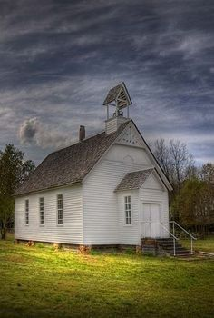 This is Smyrna Church, the oldest antebellum church in Arkansas. Built in it was recently restored by the White County Historical Society. It looks like my home church. Abandoned Churches, Old Churches, Take Me To Church, My Church, Old Time Religion, Old Country Churches, Cathedral Church, Church Building, Chapelle