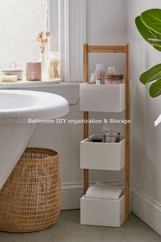 home accessories Design bathroom storage - Bamboo Bath Storage Caddy Storage Caddy, Bath Storage, Small Bathroom Storage, Bathroom Organization, Bath Caddy, Storage Shelving, Bathroom Caddy, Bathroom Storage Furniture, Toilet Storage
