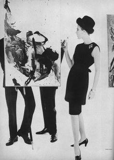Photo by Karen Radkai, Vogue March 1962.