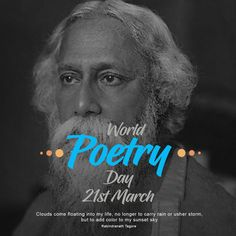 Zakti Digital Services wishes World Poetry Day to Everyone. World Poetry Day, Online Campaign, Brand Promotion, Reputation Management, Sunset Sky, Einstein, Digital Marketing, Social Media, Life