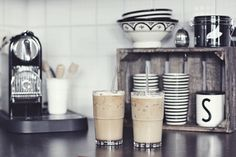 Ice coffee time, nespresso citiz & milk. Our Caramel - Soffio Caramello blend is perfect for iced coffee time > www.gourmesso.com