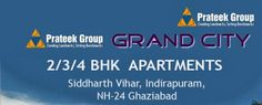 Prateek Grand City is premium residential project of Prateek Group at Siddharth Vihar Nh 24 Ghaziabad. Prateek Grand City provides lavish residential apartments and area is fully developed and has amenities nearby. For booking call @ +91 9999977719