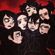 """My art is tagged under """"my trash"""". And as a heads up, you can call me Bishie. Cartoon Network, Ashi Samurai Jack, Satan, Punk Genres, Anime Nerd, Cartoon Crossovers, Old Shows, Jack And Jack, Old Cartoons"""