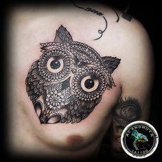 2af4f9ccc A differnet owl,the maori one..maori τατουαζ απο τις καλυτερες επιλογες για