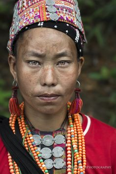 """I'm Akha - Portrait of a Akha woman (Laos).  Visit http://robertopazziphotography.weebly.com subcribe to the newsletter and download the ebook """"Street of the World"""" as welcome gift!  Web Site: http://robertopazziphotography.weebly.com Facebook: https://www.facebook.com/robertopazziphotography Instagram: Roberto_Pazzi_Photography"""