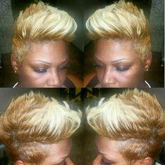 #blondeambition #shorthair #vastylist #757# moday