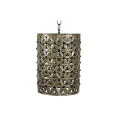 NOVICA Mexican Hand Made Tin and Glass Cylindrical Hanging Lamp (1,010 HKD) ❤ liked on Polyvore featuring home, lighting, ceiling lights, hanging lamps, home decor, lamps and lighting, metallic, glass ceiling lamp, colorful lamps and colorful lights