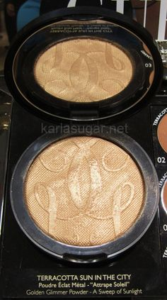 Guerlain has a slew of fabulous limited edition products coming out this summer. First up: Sun in the City golden glimmer powder. #makeup