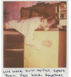"""""""We were built to fall apart then fall back together"""" ~ Out Of The Woods"""