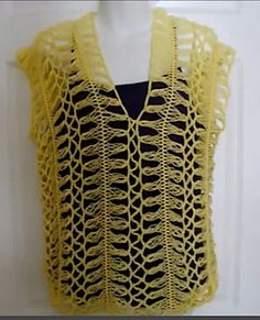 Hairpin Lace Summer Blouse (great for over a tank top or bathing suit) :: free crochet pattern at Ravelry.com