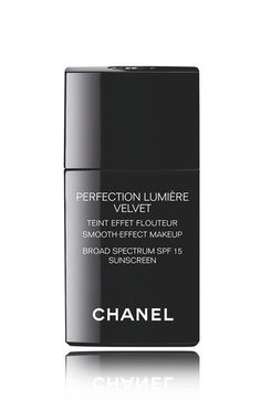 CHANEL PERFECTION LUMIÈRE VELVET  Smooth-Effect Makeup Broad Spectrum SPF 15 Sunscreen available at #Nordstrom