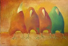 wonderful birds by tomatto