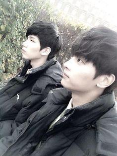VIXX: N [Cha Hack Yeon] and Hyuk [Han Sang Hyuk] Hong Bin's Twitter