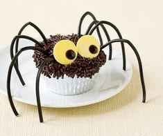 Recette cupcake Halloween decoration araignée