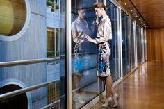 Hotel Claris Barcelona  Falda PINKO para JEAN PIERRE BUA Blusa PINKO para JEAN PIERRE BUA Zapatos GUESS