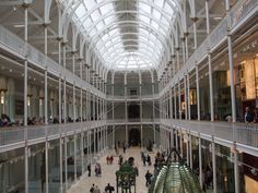 National Museum of Scotland. We were here in August 2009.  But we didn't have enough time!