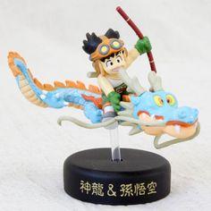 Dragon Ball Z Mini Figure Son Gokou Boy with Shenron Full-color JAPAN ANIME 2