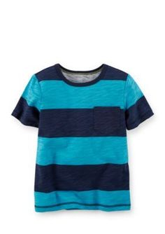Carters  Big Striped Tee Toddler Boys