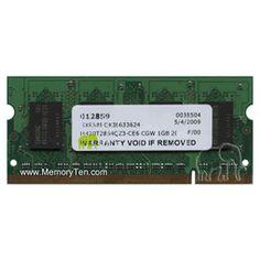 Dell Color Laser Printer 7130cdn Memory, 1GB 200pin PC2-5300 DDR2-667 SODIMM, 330-6145