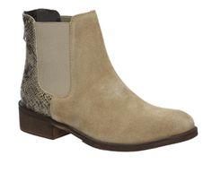 Poelman R10473 beige Chelsea boots